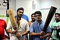 Ajay Devgn visits The Hive Gym to promote 'Bol Bachchan' 01.jpg
