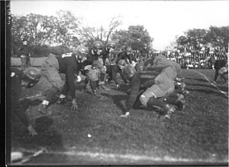 Akron Zips football - Akron's 1922 football team against Miami (OH)