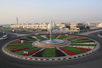 Al Wakrah - Shell Roundabout in Al Wakrah