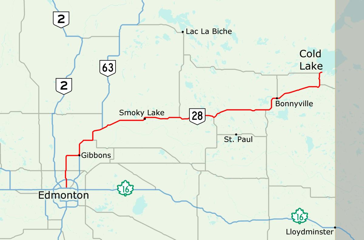 Alberta Highway 28 Wikipedia