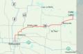 Alberta Highway 28 Map.png