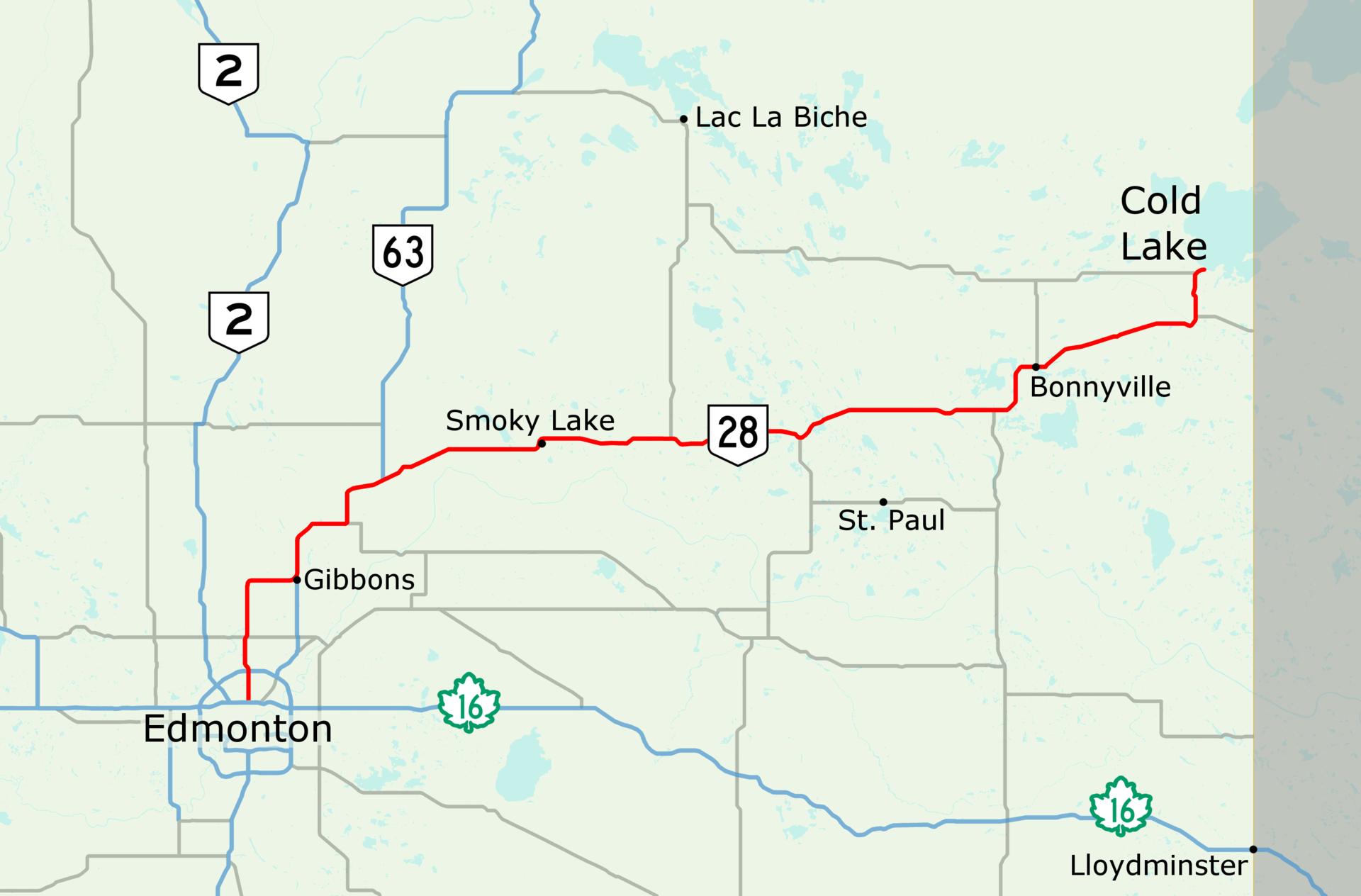 Alberta Highway 28
