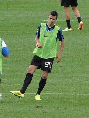 Alberto Grassi - Grassi with Atalanta in 2014
