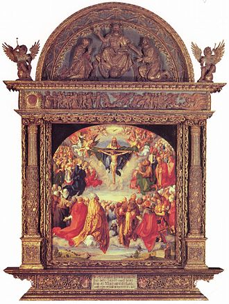 Adoration of the Trinity - Image: Albrecht Dürer 053