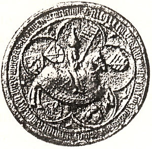 Albert III, Duke of Saxe-Wittenberg - Seal of Duke Albert III of Saxe-Wittenberg