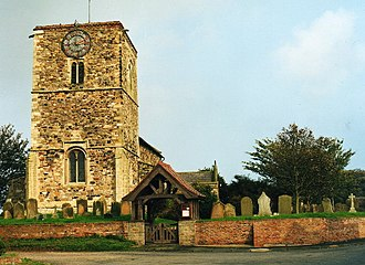 Aldbrough, East Riding of Yorkshire - St Bartholemew's Church, Aldbrough