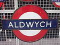 Aldwych sign (London Underground) - Flickr - James E. Petts.jpg
