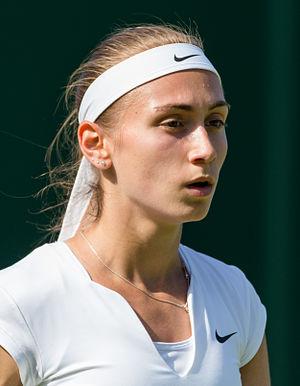 Aleksandra Krunić - Aleksandra Krunić at the 2015 Wimbledon Championships