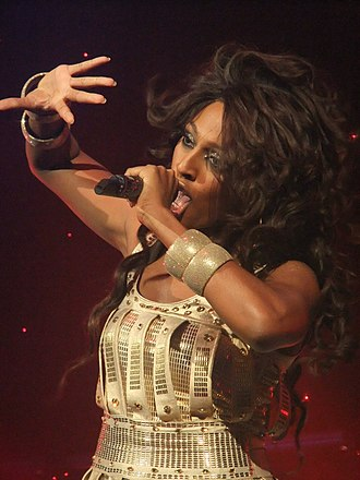 Alexandra Burke - Burke during the All Night Long Tour in 2011