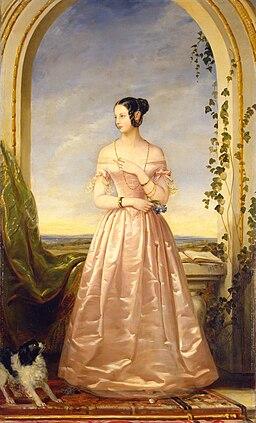 Alexandra Nikolaievna of Russia by C.Robertson (1840, Hermitage)