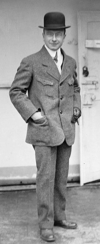 Alexis Carrel - Carrel in 1912