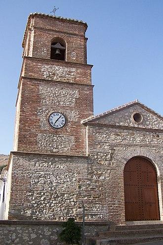 Alfarnatejo - Alfarnatejo church