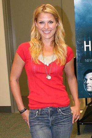 Ali Larter - Larter promoting Heroes at Comic Con, July 2006.