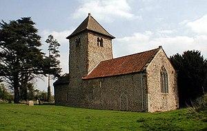 Newton by Castle Acre - Image: All Saints, Newton, Norfolk