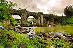 Tayabas - Image: Allan Jay Quesada DSC 7183 Malagonlong Bridge, Tayabas, Quezon