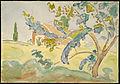 Allen Tucker - Tree and Barn - Google Art Project.jpg
