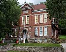 Alma Area Museum in Old Buffalo County Training School and Teachers College Building in Alma, Wisconsin.