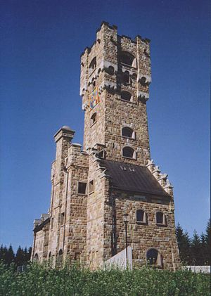 Praděd - As a copy of the original Altvaterturm, this was built in 2004 on the Wetzstein in Germany.