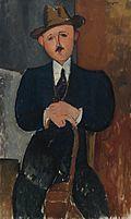 Amedeo Modigliani L'Homme assis 1918.jpg