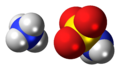 Ammonium sulfamate ions spacefill.png