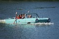 Amphicar 770 1967 NoNum Afternoon swim Lake Mirror Cassic 16Oct2010 (14874296031).jpg