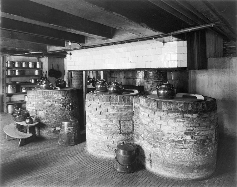 File amstel interieur 17e eeuw keuken amsterdam for Interieur 607