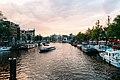 Amstel vanaf Blauwbrug 2017.jpg