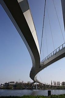 Nescio Bridge bridge in Amsterdam