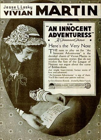 Vivian Martin - An Innocent Adventuress (1919)