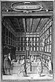 An interior of a busy apothecary shop. Line engraving by C. Wellcome L0002646.jpg