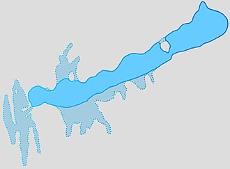 Lake Balaton - Map of Balaton in ancient times
