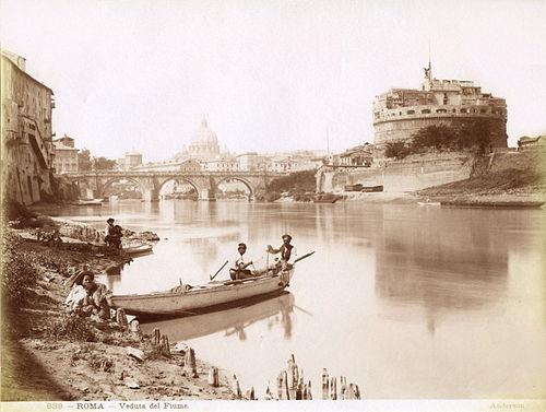Anderson, James (1813-1877) - n. 0638 - Roma - Veduta del fiume