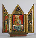 Andrea Delitio - Madonna and Child Enthroned with Saints - Walters 37715.jpg