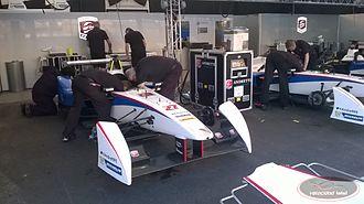 2014–15 Formula E season - Spark-Renault SRT 01E in Andretti colors.