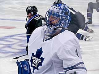 Andrew Raycroft Canadian ice hockey goalie