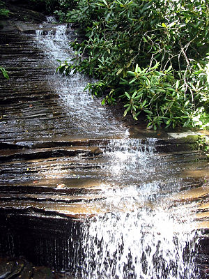 Angel Falls (Georgia) - Image: Angel Falls Georgia
