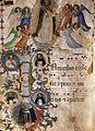 Angelico, gloria di san domenico, miniatura.jpg