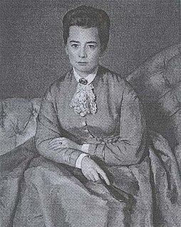 Anna von Helmholtz German salon-holder