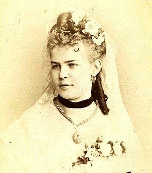 Anna D'Angeri - D'Angeri in St Petersburg, 1874