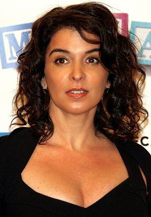 Annabella Sciorra - Annabella Sciorra at the 2008 Tribeca Film Festival.