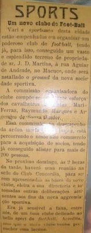 History of Santos FC (1912–1935) - Image: Antes da fundação