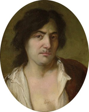 Antonio Bellucci - A self portrait of Antonio Bellucci, painted in 1684