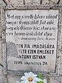Antony István kereszt (1908), Sz. János evang. 3. rész 16. vers, 2019 Dunaharaszti.jpg