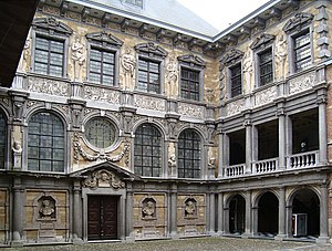 Rubenshuis - The interior courtyard