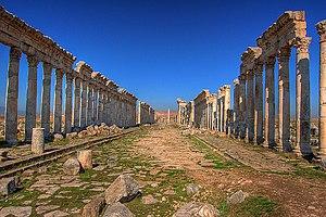 Cardo - Cardo maximus of Apamea (Syria)