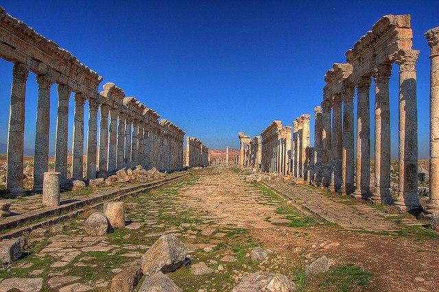 Apamea Syria, cardo maxima
