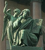 Apostle Matthew on St.Isaac cathedral (SPb).jpg
