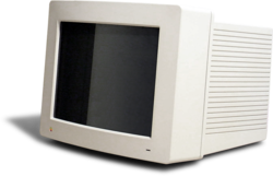 A AppleColor High-Resolution RGB Monitor