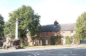Grade II* listed buildings in Eden District - Image: Appleby High Cross and nearby houses