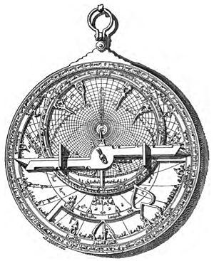 Atès que volem que aquesta pàgina sigui un espai d'ajuda a la navegació i l'edició, a més d'una eina d'orientació per als estudiants, us hem posat com a imatge un astrolabi